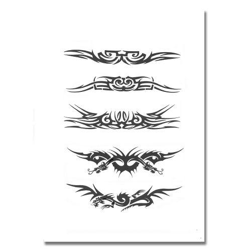 Airbrush Schablonen Tattoo 101