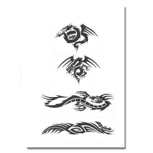 Airbrush Schablonen Tattoo 100