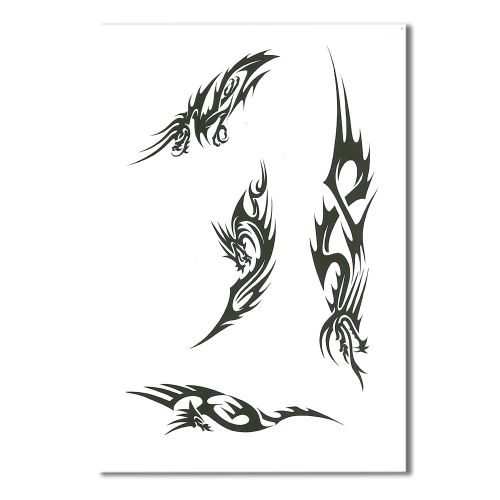 Airbrush Schablonen Tattoo 98