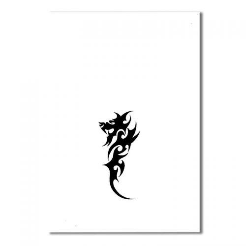 Airbrush Schablonen Tattoo 64