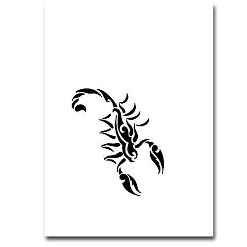 Airbrush Schablonen Tattoo 78