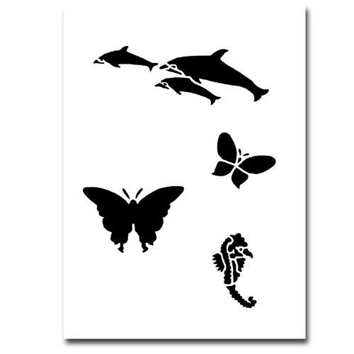 Airbrush Schablonen Tiere