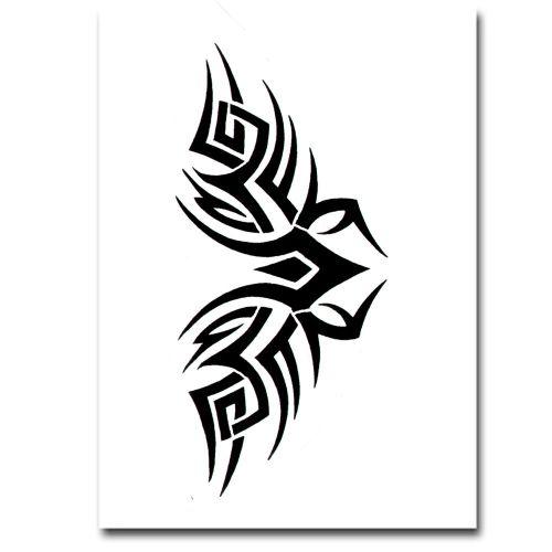 Airbrush Schablonen Tattoo 32