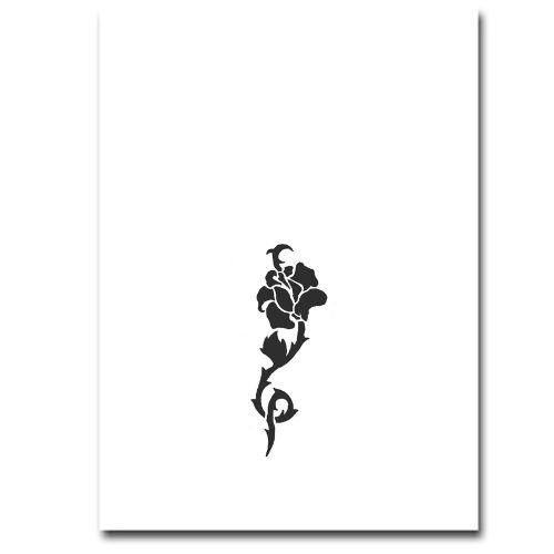 Airbrush Schablonen Tattoo 38