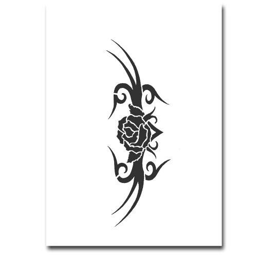 Airbrush Schablonen Tattoo 39