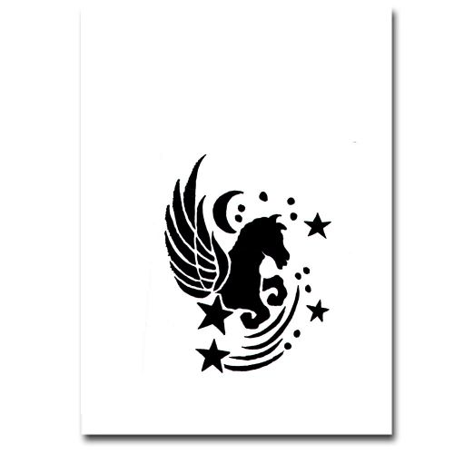 Airbrush Schablonen Tattoo 60