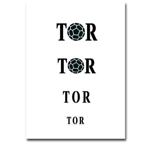 Airbrush Schablonen Tor 2