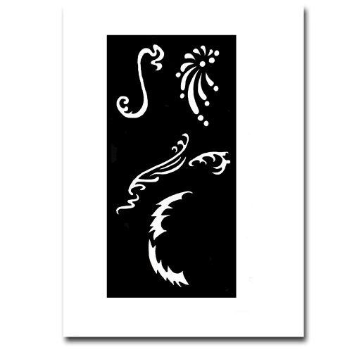 Airbrush Schablonen Fantasy 25