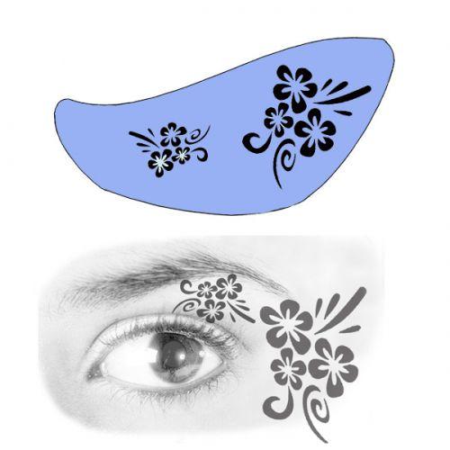 Airbrush Schablonen Eyeflash 13