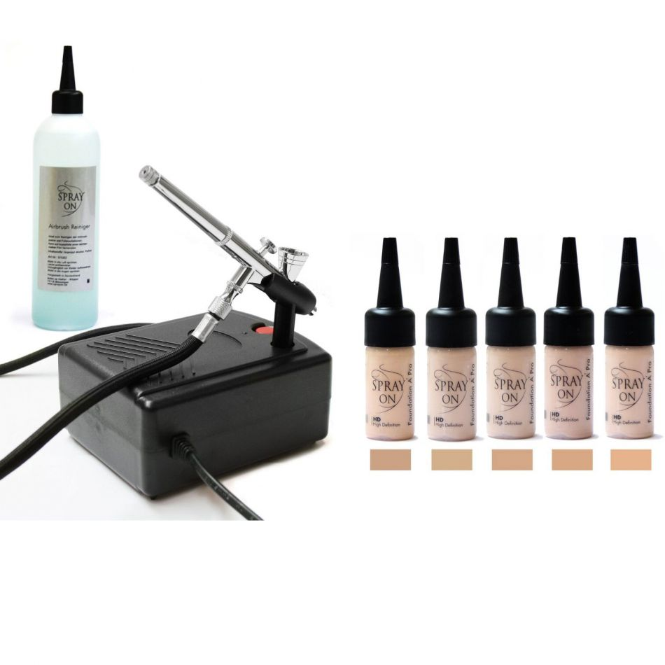 Airbrush Make-up Profi Komplettausstattung Aqua Basic