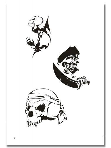 Airbrush Tattoo Schablone 315