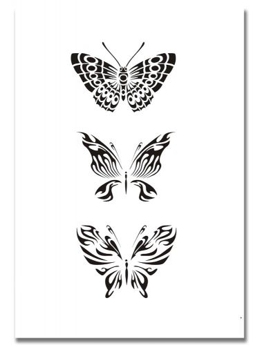 Airbrush Tattoo Schablone 316