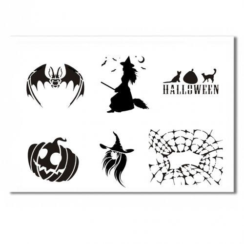 Halloween Schablone 3