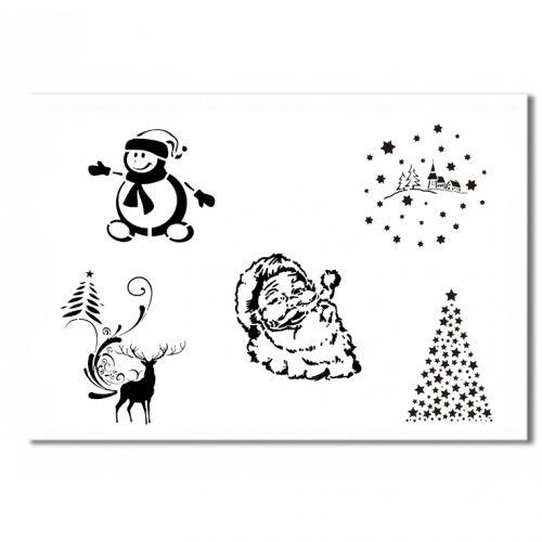 Christmas Schablone 2