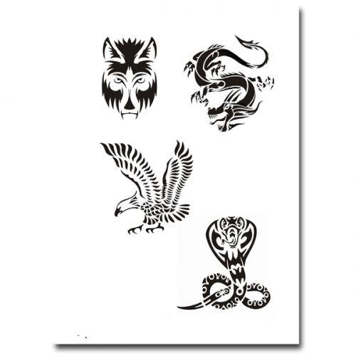 Airbrush Tattoo Schablone 305