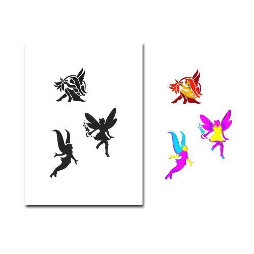 Airbrush Schablonen Tattoo 203 - Lilly & Fee