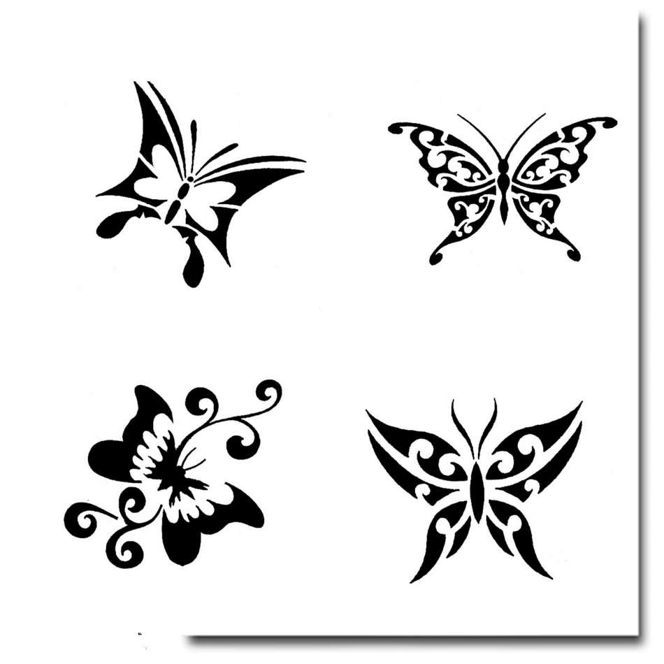 airbrush schablonen tattoo 220. Black Bedroom Furniture Sets. Home Design Ideas