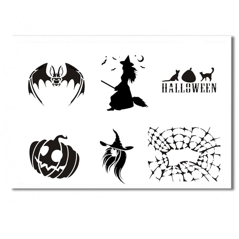 halloween schablone 3. Black Bedroom Furniture Sets. Home Design Ideas