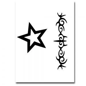 Airbrush Schablonen Tattoo 10