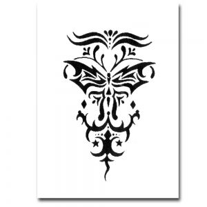 Airbrush Schablonen Tattoo 30