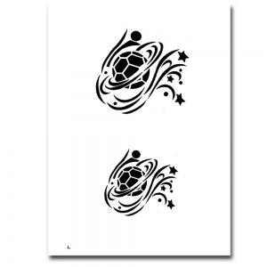 Airbrush Schablonen Design 6