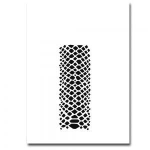 Airbrush Schablonen Schlange