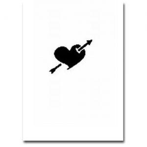 Airbrush Schablonen Herz