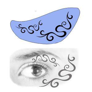 Airbrush Schablonen Eyeflash 14