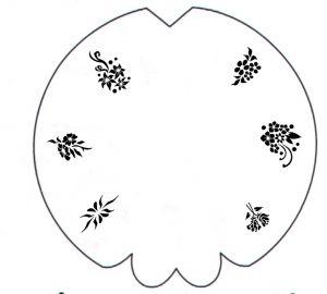 Airbrush Schablonen Design 53