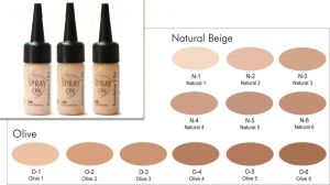 Matte Make-up Foundation - HD - Silicone Based - 30 ml