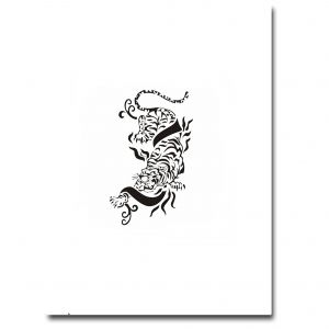 Airbrush Tattoo Stencil 304