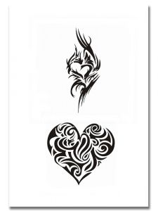 Airbrush Tattoo Schablone 302
