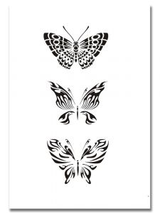 Airbrush Tattoo Stencil 316