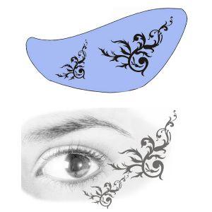 Airbrush Schablonen Eyeflash 20