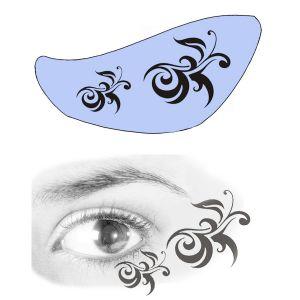 Airbrush Schablonen Eyeflash 18