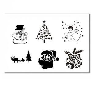 Christmas Schablone 1