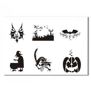 Halloween Schablone 2