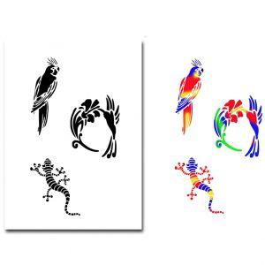 Airbrush Schablonen 519
