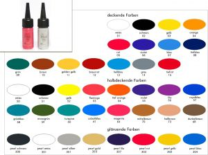 Airbrush Farben - 50 ml