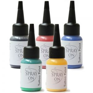 Airbrush Tattoo Color -30 ml - airbrush tattoo ink