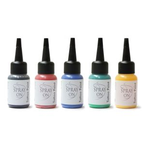 Airbrush Tattoo Color - 15 ml -Set
