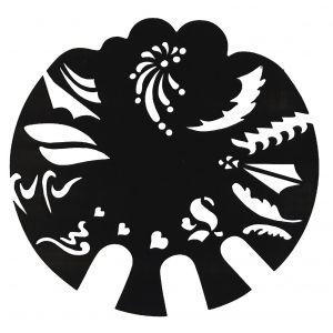 Airbrush Schablonen Design 41