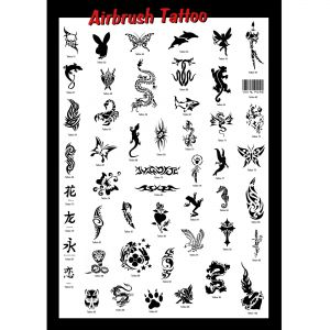 Motiv Plakat Tattoo 1 - Grösse A1