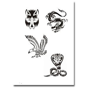 Airbrush Tattoo Schablone 305
